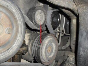 Ролик ремня приводного на Hyundai Tucson